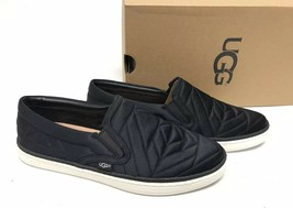 Ugg Australia Soleda Quilted Sneaker Black 1095533 Shoes Women's Slip On - $79.99