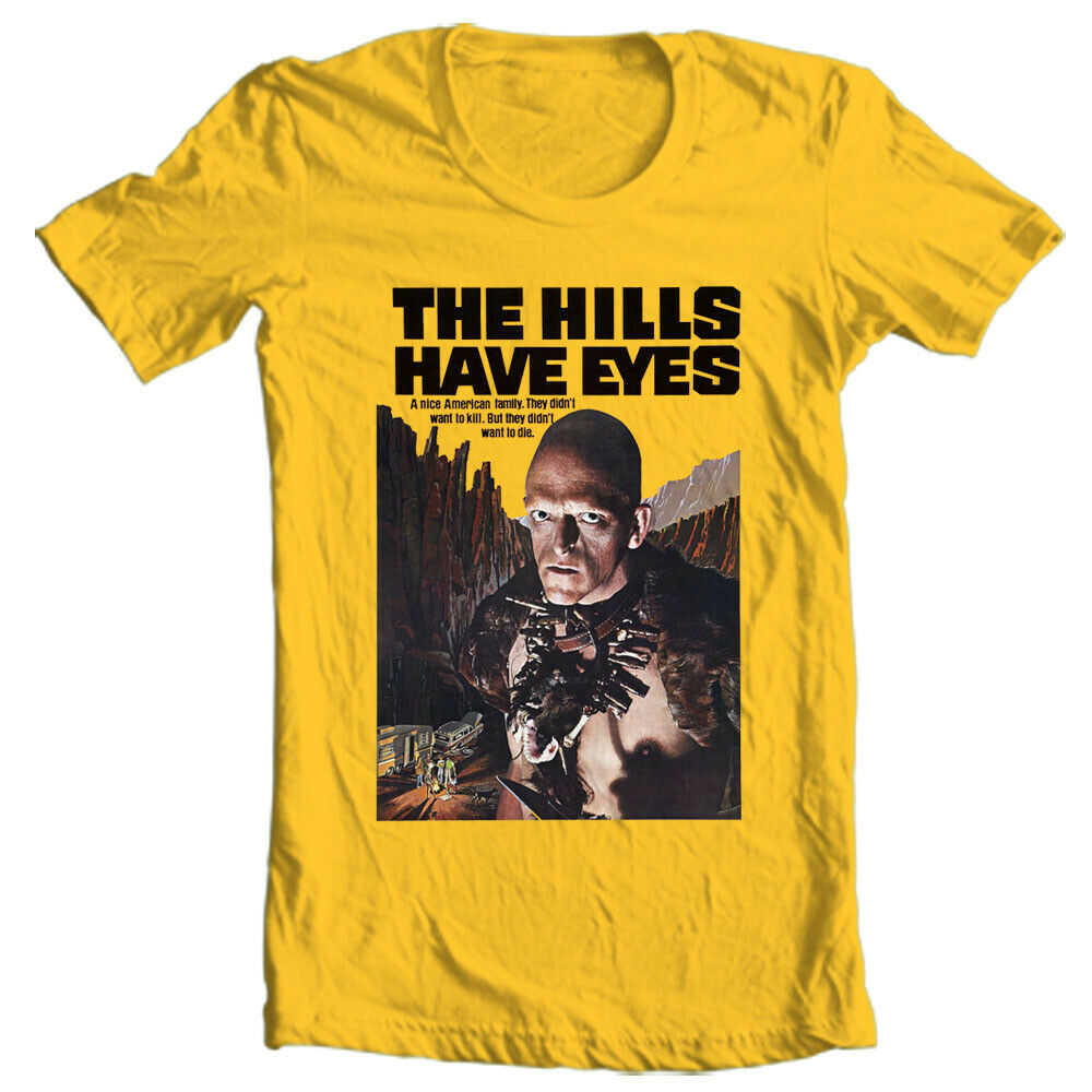 The Hills Have Eyes T Shirt Wes Craven retro vintage horror movie graphic tee