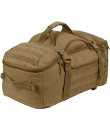 Coyote Brown Tactical Mission Duffle Carry Bag Multi Convertible Backpack - $93.99