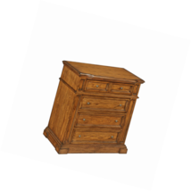 Home Styles 5004-41 Four Drawer Americana Chest, Distressed Oak - €383,33 EUR