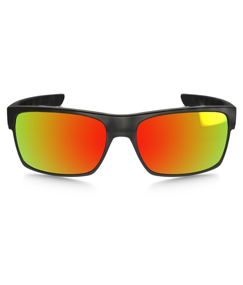 New Oakley TwoFace Matte Black Tort  w/Ruby Iridium 9189-11
