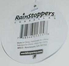 RainStoppers W104CHBRIDOT Multicolored Manual Open Umbrella Dots image 6
