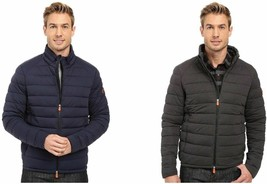 Save The Duck Mens Quilted Stretch Plumtech Ultralight Puffer Jacket $355 - $179.99