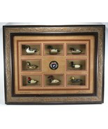 Rare HTF Ducks Unlimited Classic American Antique Decoy Collection Frame Display - $503.95