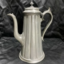Antique James Dixon & Sons Pewter Coffee Pot 4049 Sheffield Early 1900's - $89.99