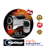 Voice Caddie Easy GPS RangeFinder GL1 Burgundy Silver Color Free Shipping - $998.75