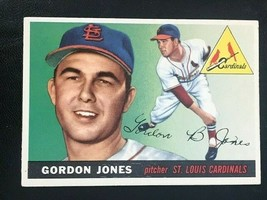 1955 Topps Baseball Card #78 GORDON JONES - Cardinals - $5.89