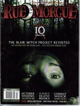 Rue Morgue Magazine #91 Blair Witch Revisited Monster Horror Terror - $7.20