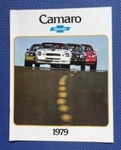 1979 Chevrolet CAMARO Automobile Color Sales Brochure - ORIGINAL New Old Stock - $10.00