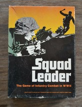Avalon Hill - SQUAD LEADER ww2 infantry combat-1977  - $40.00