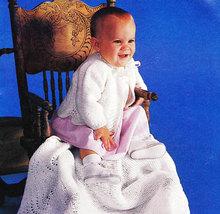 CROCHET & KNIT BABY BOOK COATS & CLARK'S NO. 251 - $4.95