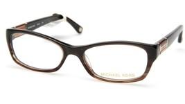 New Michael Kors MK252 204 Brown Eyeglasses Frame 50-16-130mm B30mm - $53.89