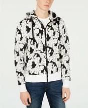 Michael Kors Men's Floral Graphic Hoodie, Size M, MSRP $128 - $48.85