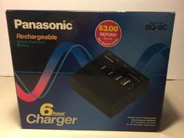 Panasonic Multi Universal NiCad 6 Hour D C AA AAA 9V Battery Charger BQ-8C - $13.59