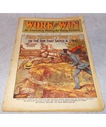 Work and Win Weekly Juvenile Pulp Magazine 706 June 1914 Hal Standish  - $19.95
