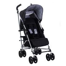 My Babiie US02 Black Leopard Baby Stroller – Lightweight Baby Stroller w... - $102.02