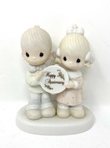 """1983 Precious Moments """"Happy Anniversary"""" Figurine #E-2853 God Blessed Our Years - $9.49"""