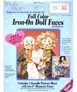 Vintage Dolly Dear Iron On Faces for Bobbles an... - $6.00