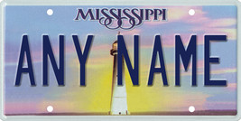 Custom Personalized Mississippi golf cart, mobility scooter license plate - $12.99