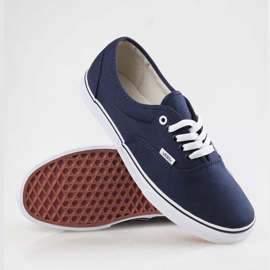 d2253f0416 Men s Vans Authentic Shoes Navy True White and 50 similar items