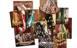 CROCHET & KNIT AFGHANS BY COLUMBIA MINERVA BOOK 742 - $7.50