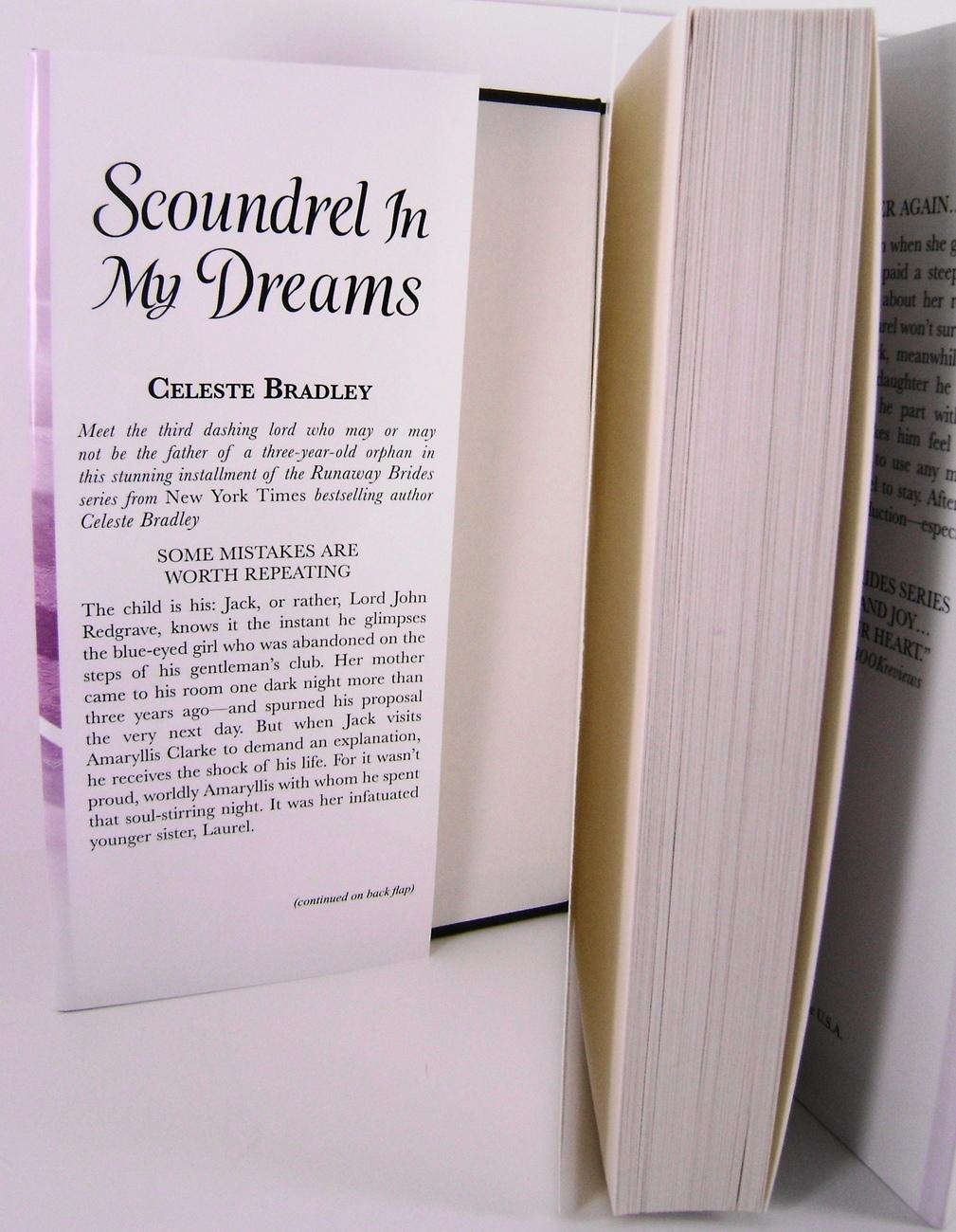 Scoundrel In My Dreams Runaway Brides   By Celeste Bradley