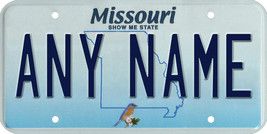 Custom Personalized Missouri golf cart, mobility scooter, go cart license plate - $12.99