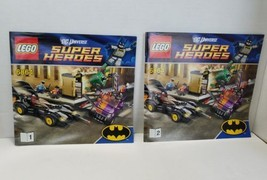 LEGO DC Universe Super Heroes 6864 Batmobile Two Face Chase Instruction ... - $9.69