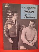Vintage Beehive Knitting Patterns Pattern Book Men - $5.99