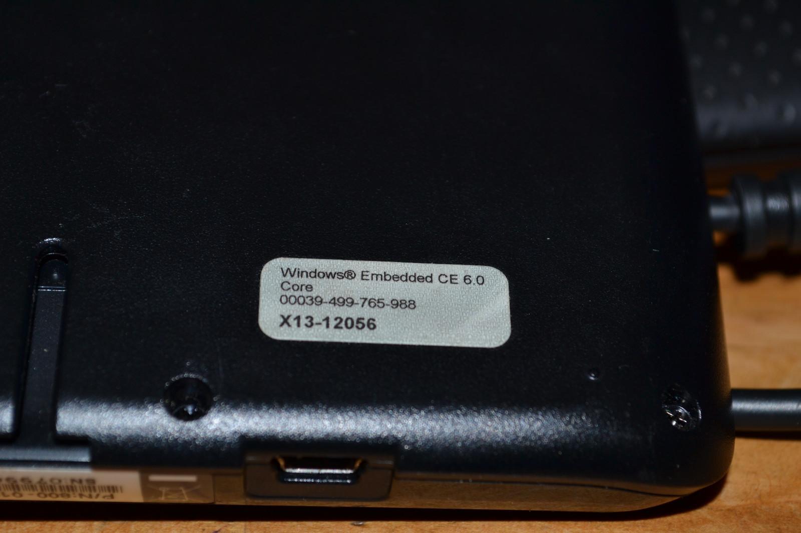 Magellan Roadmate X13-12056 GPS Unit Windows Embedded  CE 6.0 Core