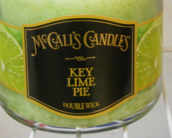 McCalls New Double Wick Classic Key Lime Pie Jar Candle 16 oz