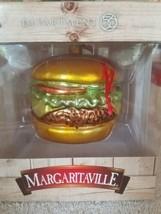 Margaritaville Burger Large Christmas Ornament upc 045544979467 - $49.38