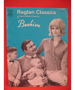 Vintage Beehive Knitting Patterns Pattern Book Family - $6.99