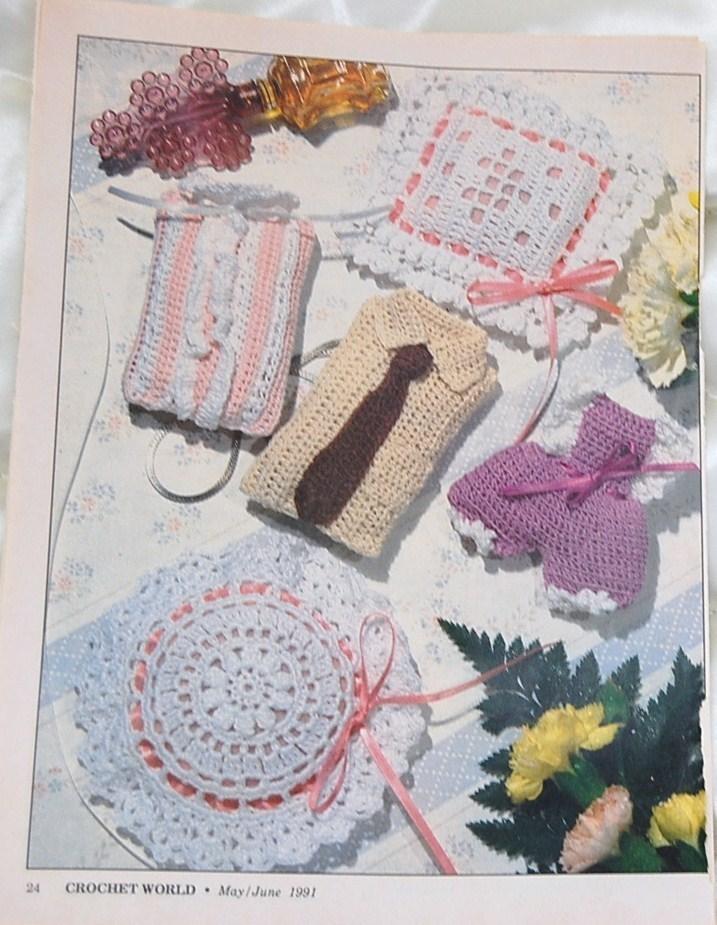 Sachet Crochet Patterns/Crochet World