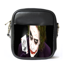 Sling Bag Leather Shoulder Bag Joker With Card American Superheroes In ... - $14.00