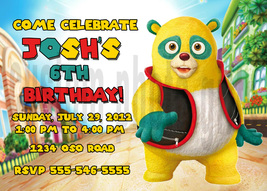 Personalized Special Agent Oso Birthday Invitation Digital File, You Print - $8.00