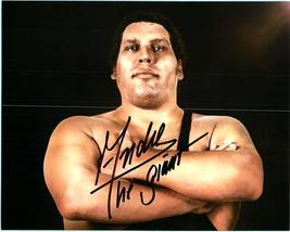 ANDRE THE GIANT  Authentic Autographed Hand Signed Photo w/ COA -331 - $145.00