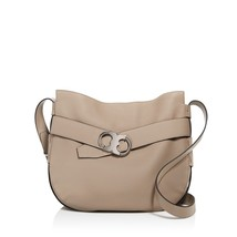 NWT TORY BURCH GEMINI BELTED LEATHER SHOULDER BAG IN FRENCH GRAY - $6.328,94 MXN