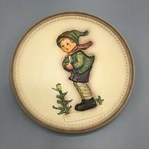 Goebel Hummel Porcelain Plate 281 It's Cold 4th Edition Celebration Series - $18.75