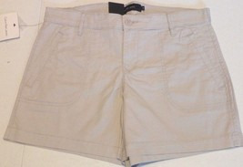 Calvin Klein Jeans Women's Casual Stretch 4 pockets Shorts  Flight Tan Sz 2 - $15.79