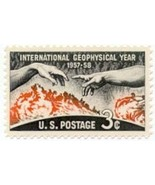 1958 Geophysical Year Scott 1107 $0.99 for (2) stamps - $1.25 CAD