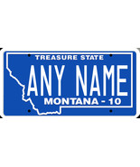 Custom Personalized Montana golf cart, mobility scooter, go cart license... - $12.99