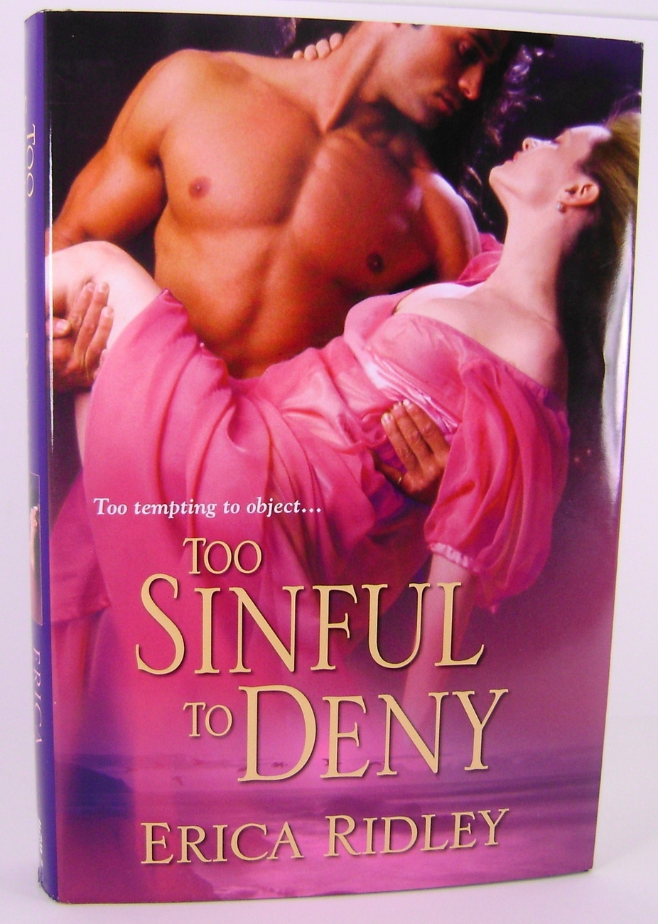 Too Sinful To Deny By Erica Ridley HC BCE