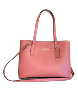 Coach Avenue Leather Carryall Bag ~ Rose Petal Leather (Carnation Inside... - $129.95