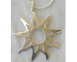 Happy sun silver pendant thumb155 crop