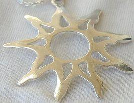 Happy sun silver pendant 5 thumb200