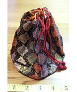 Ladies Silk Obi Kimono Small Tote Bag Lovely Look! - $6.75