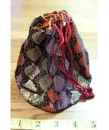 Ladies Silk Obi Kimono Small Tote Bag Lovely Look! - $6.75
