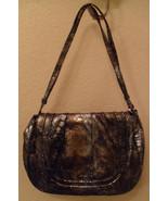 NEW POSSE Isabella Ice Leather Crossbody Tote Bag Handbag (MAKE AN OFFER) - $291.06