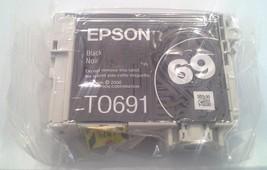 Epson T0691 BLACK ink jet printer Stylus CX6000 CX7000F CX7400 CX7450 to... - $19.75